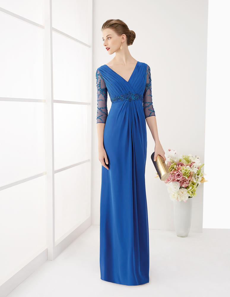 9G161 Vestido de Fiesta Couture Club