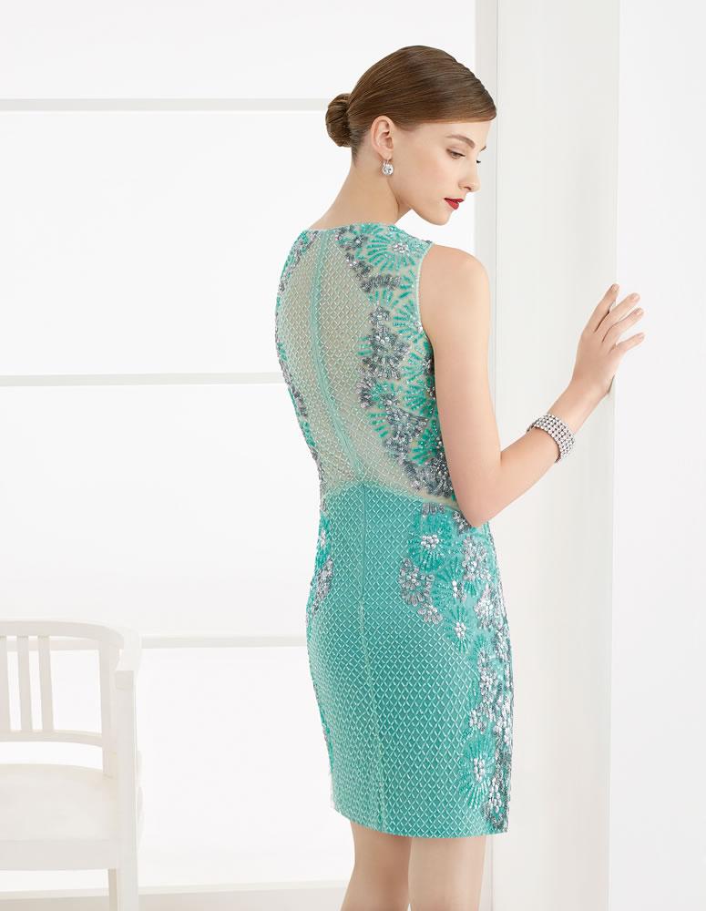 9G201 Vestido de Fiesta Couture Club