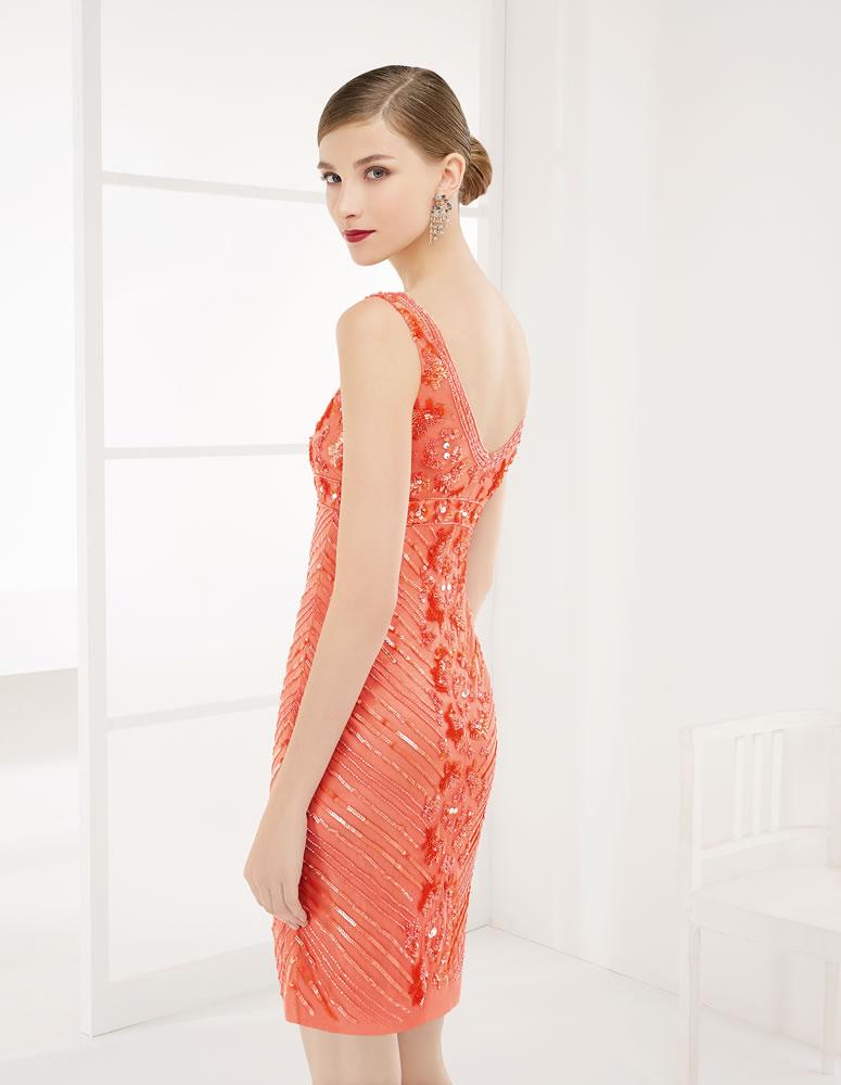 9G203 Vestido de Fiesta Couture Club