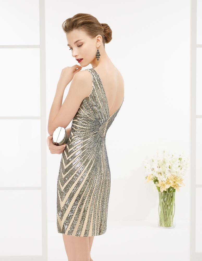 9G204 Vestido de Fiesta Couture Club