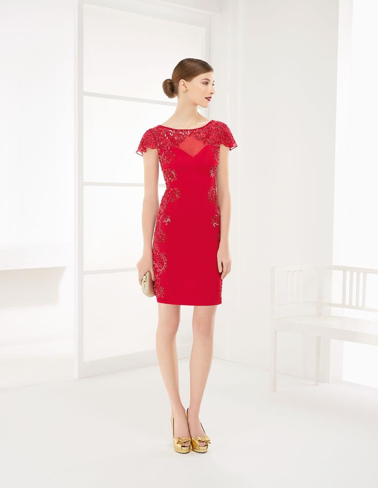9G208 Vestido de Fiesta Couture Club