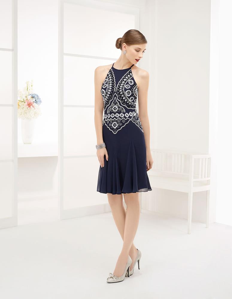 9G209 Vestido de Fiesta Couture Club