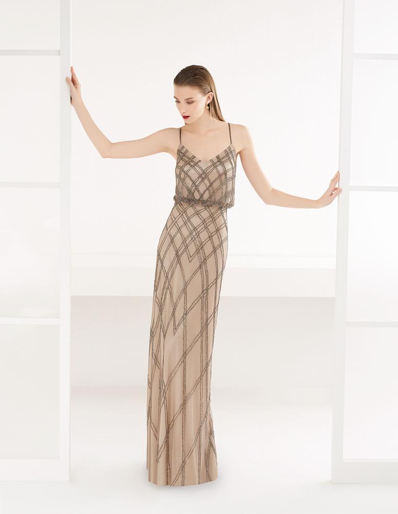 9G213 Vestido de Fiesta Couture Club