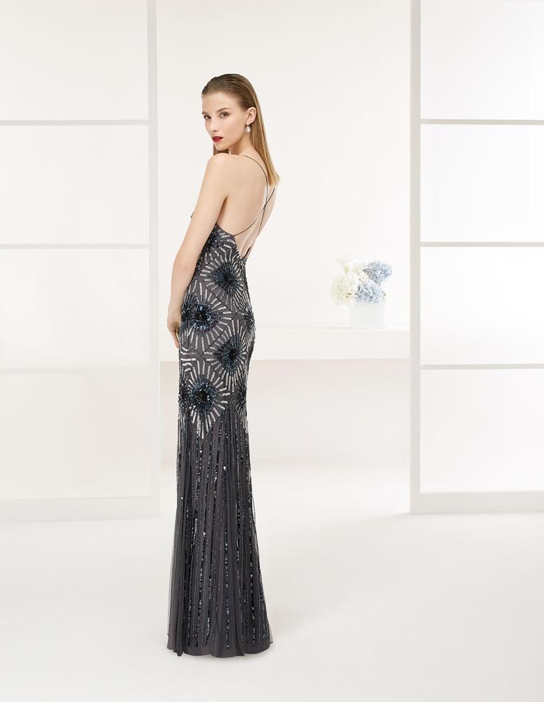 9G216  Vestido de Fiesta Couture Club