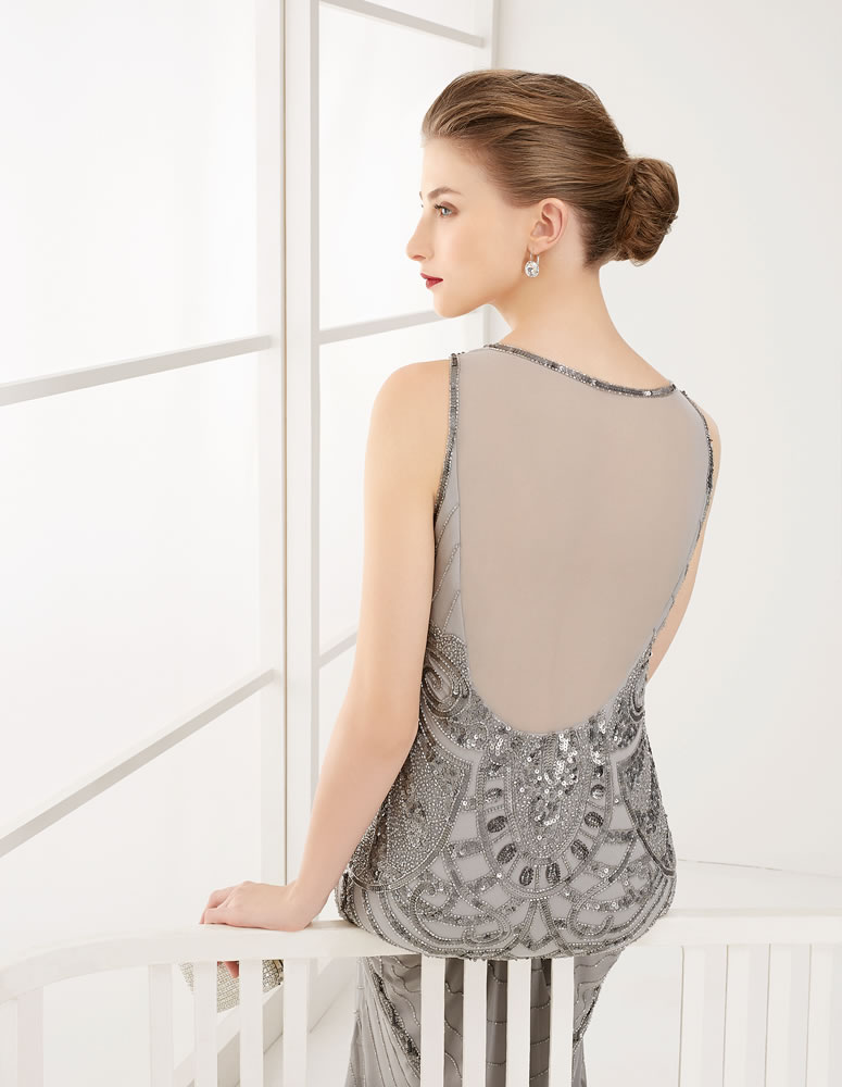 9G218 Vestido de Fiesta Couture Club