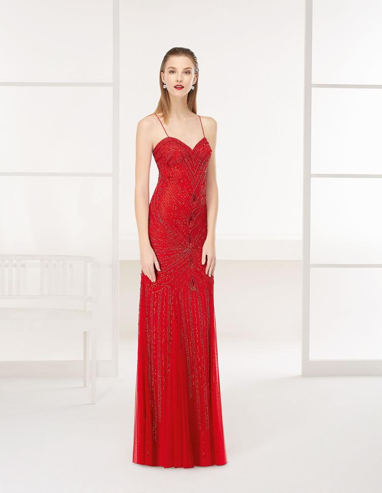 9G219 Vestido de Fiesta Couture Club