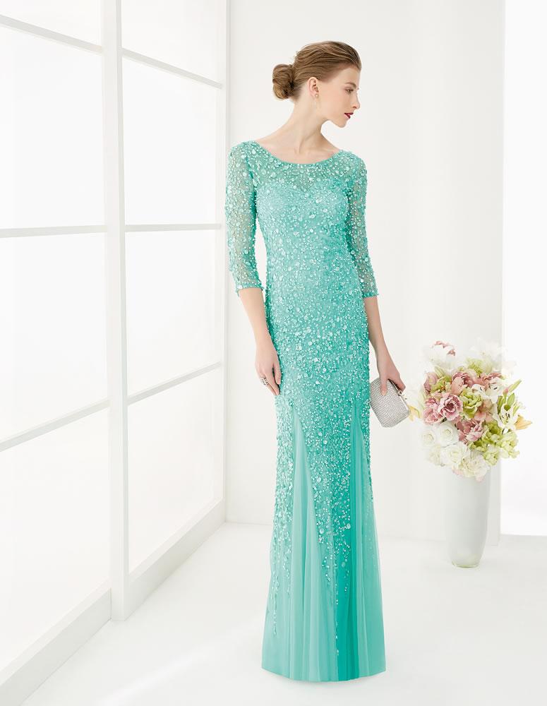 9G224 Vestido de Fiesta Couture Club