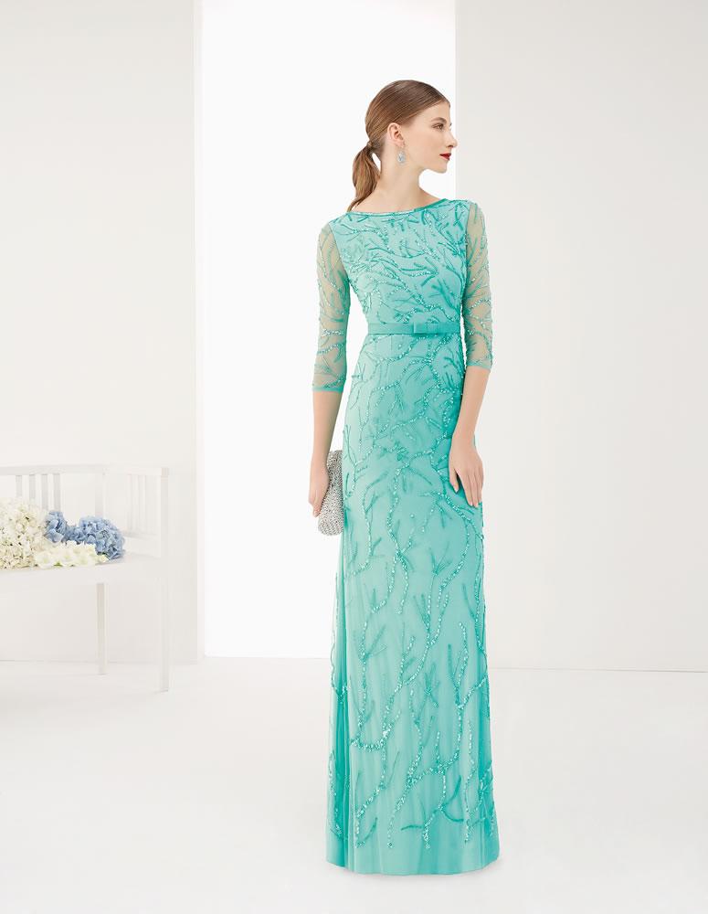 9G226 Vestido de Fiesta Couture Club