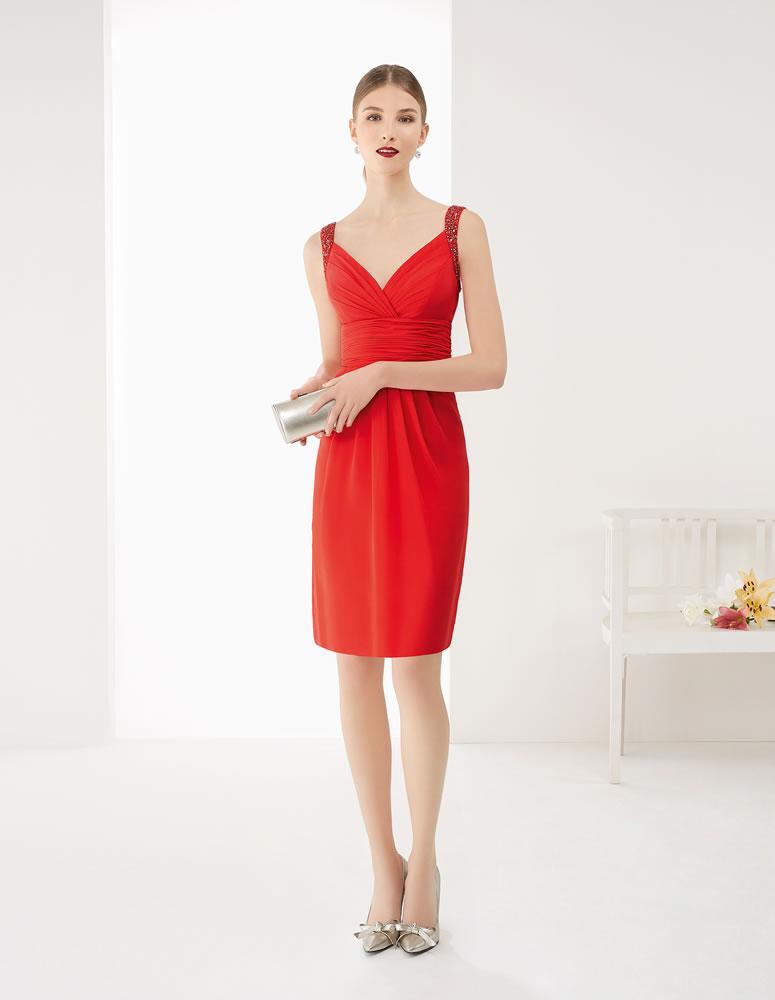 9G232 Vestido de Fiesta Couture Club