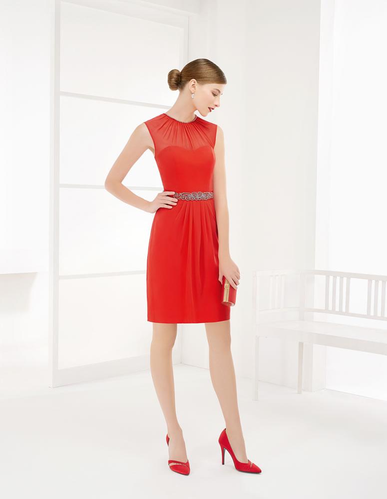 9G233 Vestido de Fiesta Couture Club