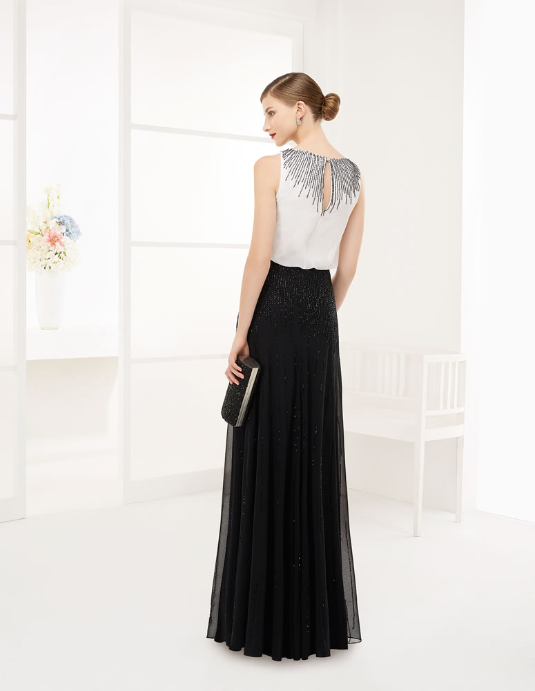 9G234 Vestido de Fiesta Couture Club