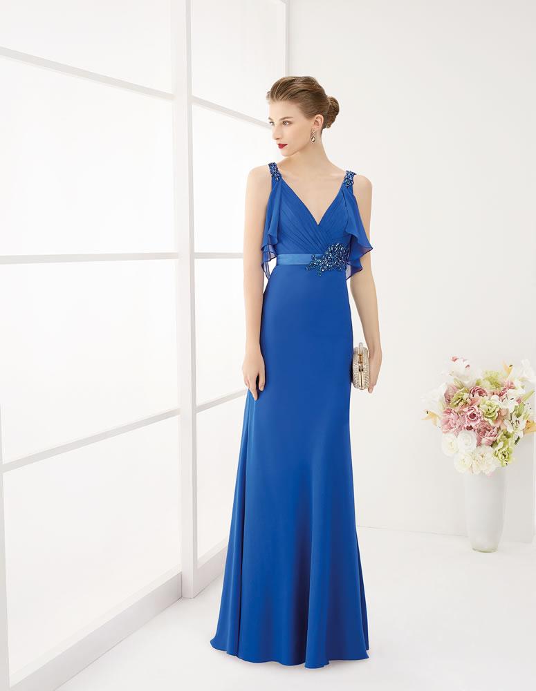 9G246 Vestido de Fiesta Couture Club