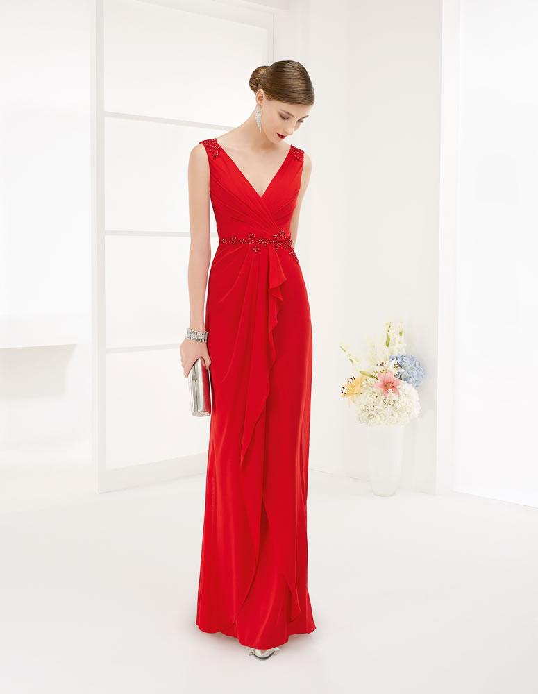 9G248 Vestido de Fiesta Couture Club
