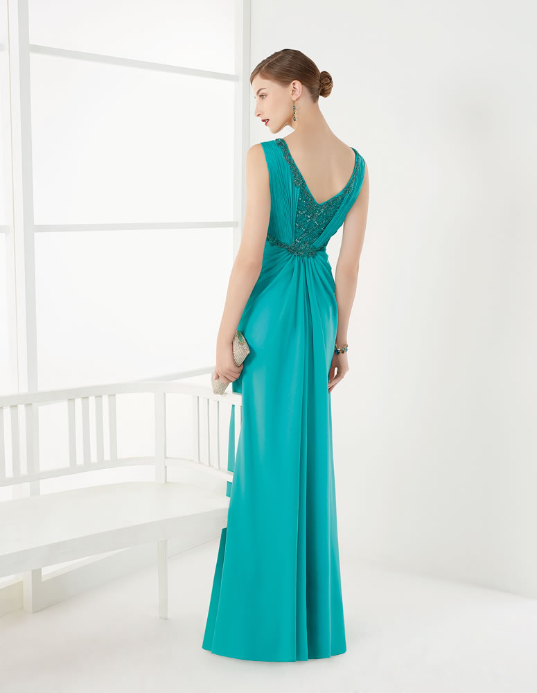 9G250 Vestido de Fiesta Couture Club