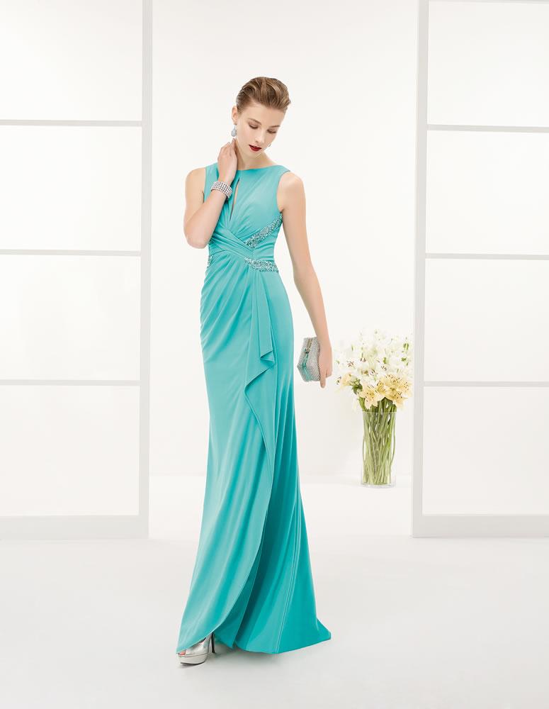 9G254 Vestido de Fiesta Couture Club