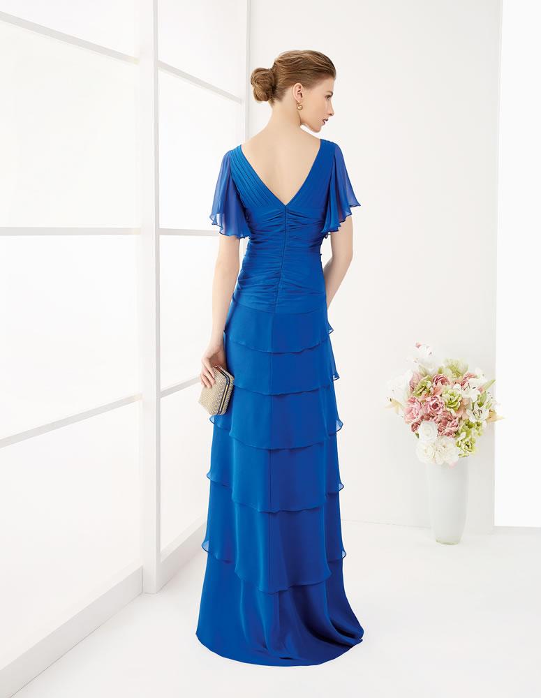 9G256 Vestido de Fiesta Couture Club