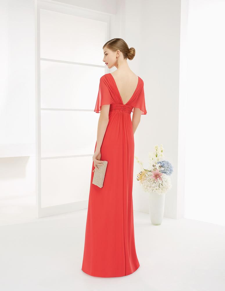 9G258 Vestido de Fiesta Couture Club