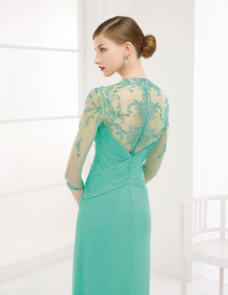 9G263 Vestido de Fiesta Couture Club