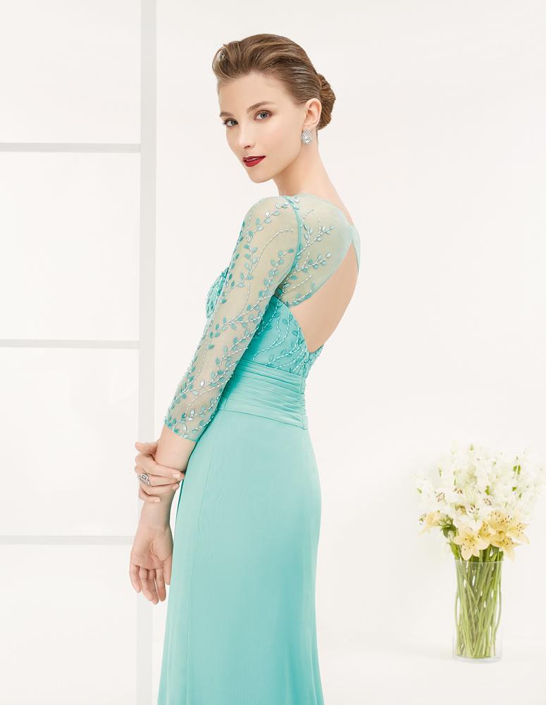 9G264 Vestido de Fiesta Couture Club