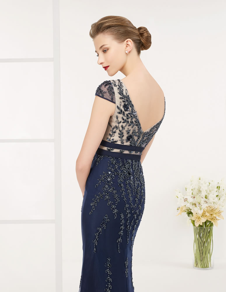 9G279 Vestido de Fiesta Couture Club