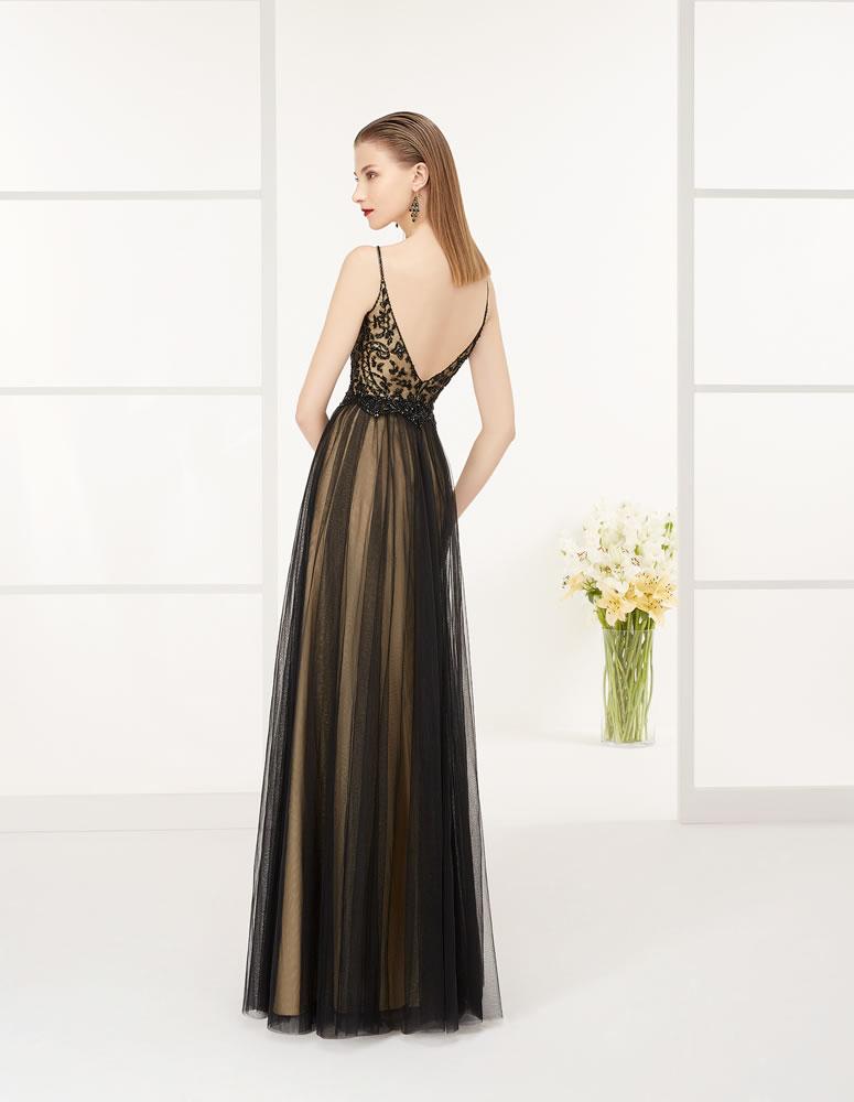9G282 Vestido de Fiesta Couture Club
