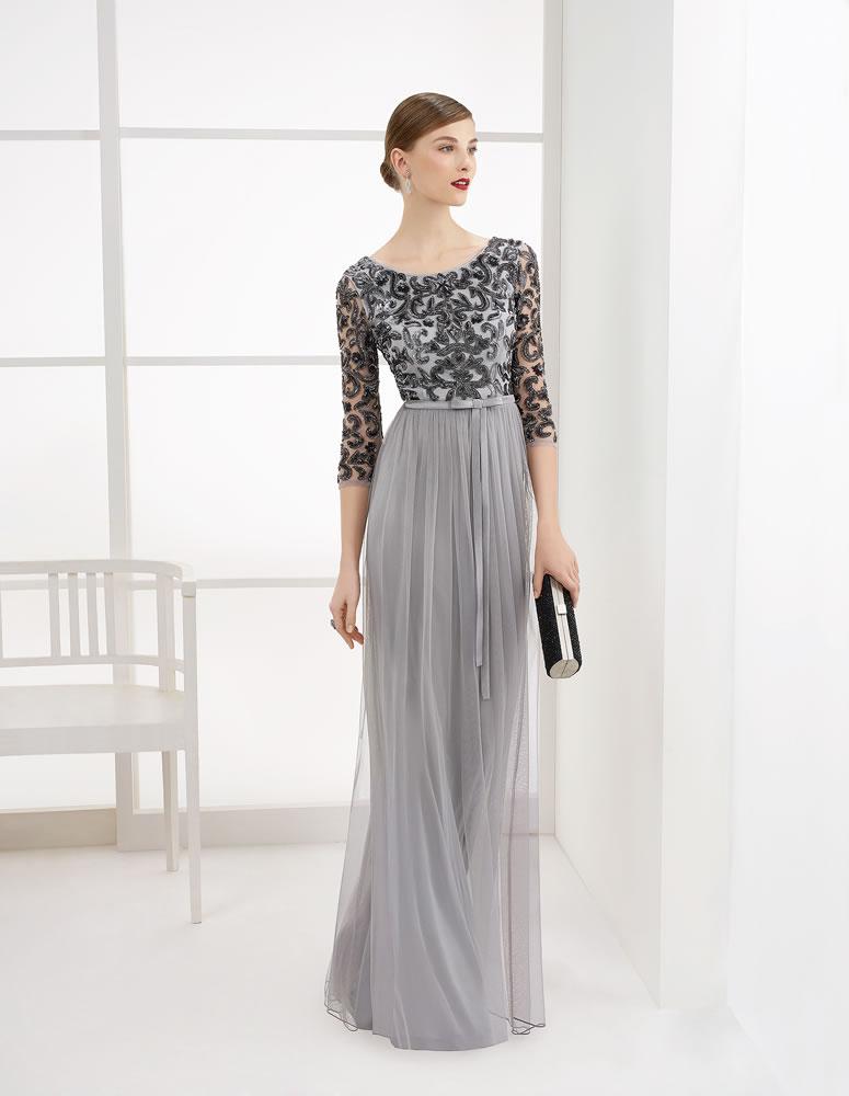 9G286 Vestido de Fiesta Couture Club