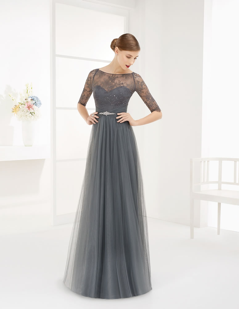9G289 Vestido de Fiesta Couture Club