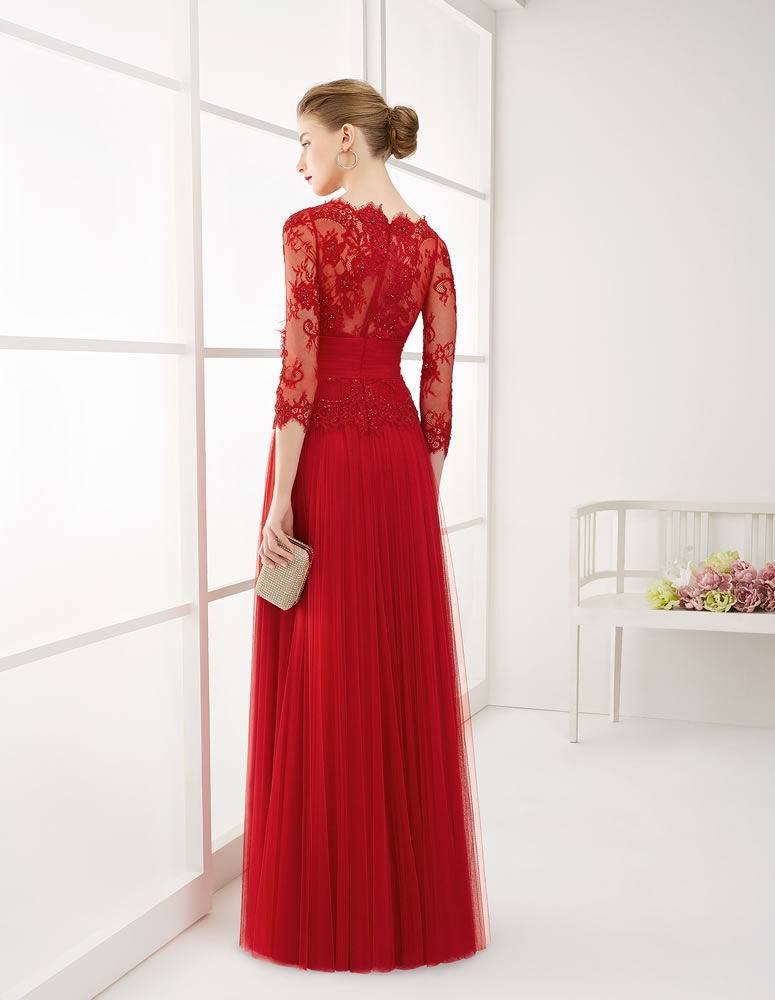 9G291 Vestido de Fiesta Couture Club