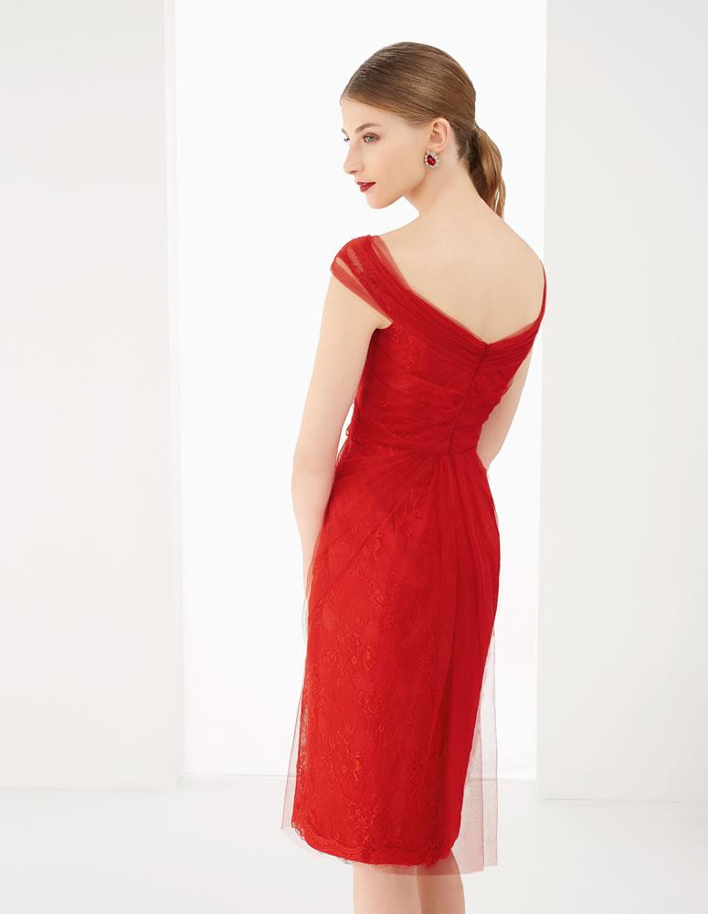 9G292 Vestido de Fiesta Couture Club