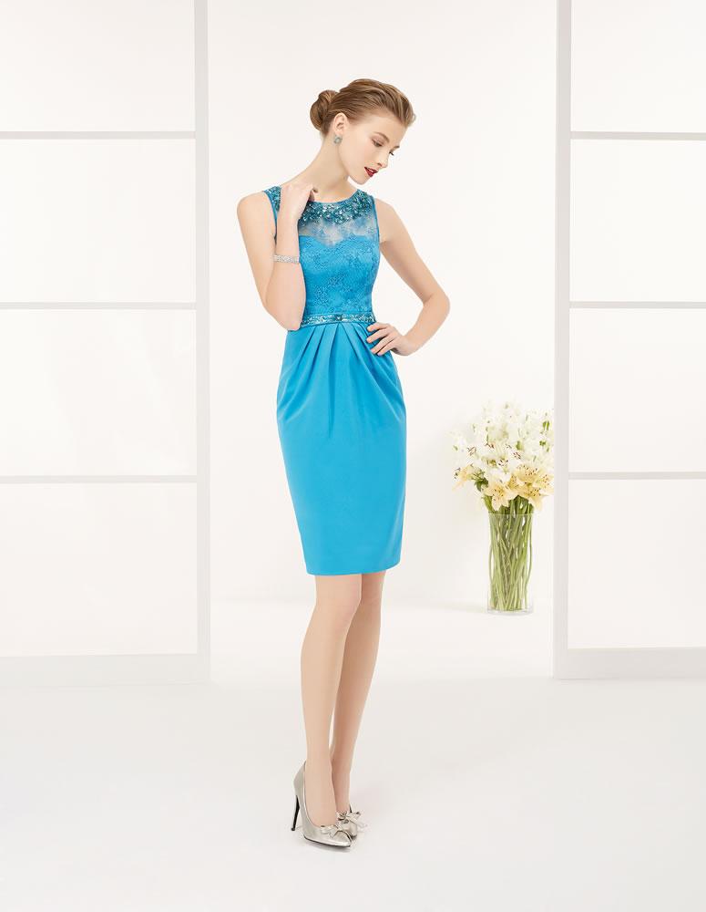 9G298 Vestido de Fiesta Couture Club