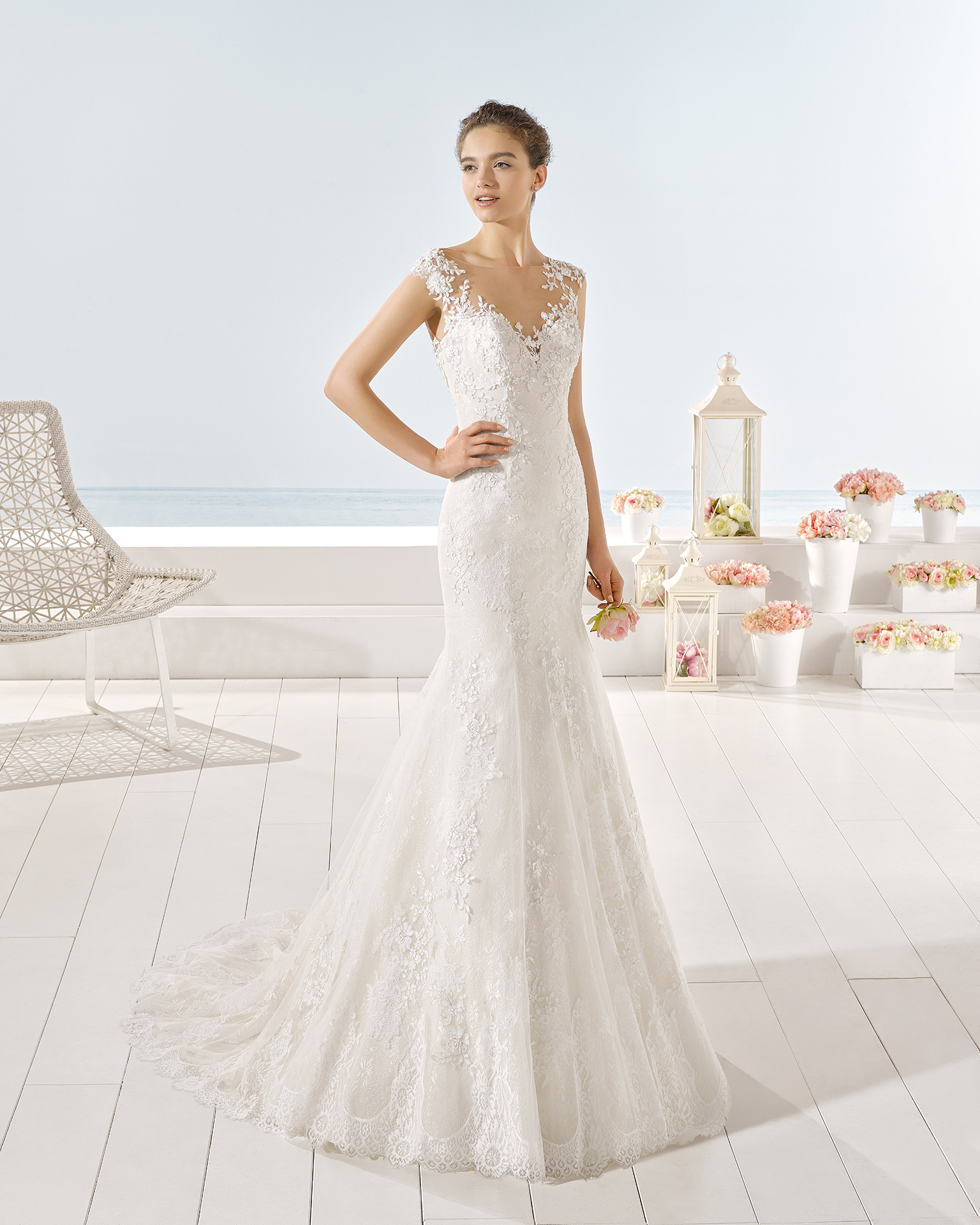 Yana wedding dress, Luna Novias 2017