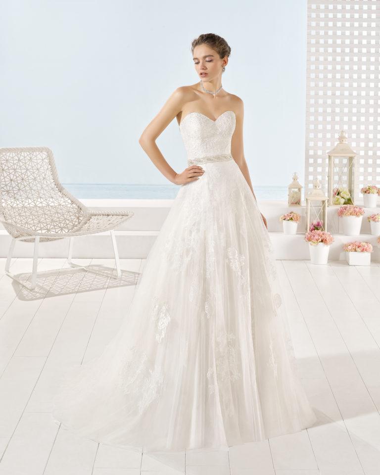 Yerica wedding dress, Luna Novias 2017