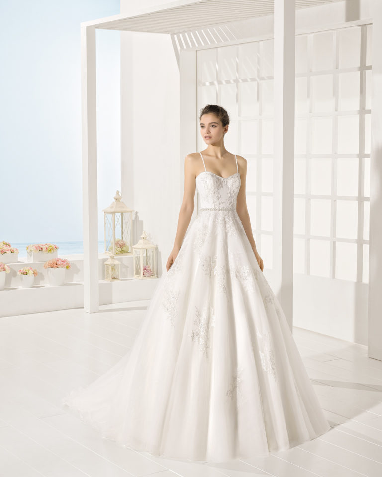 Yerk wedding dress, Luna Novias 2017
