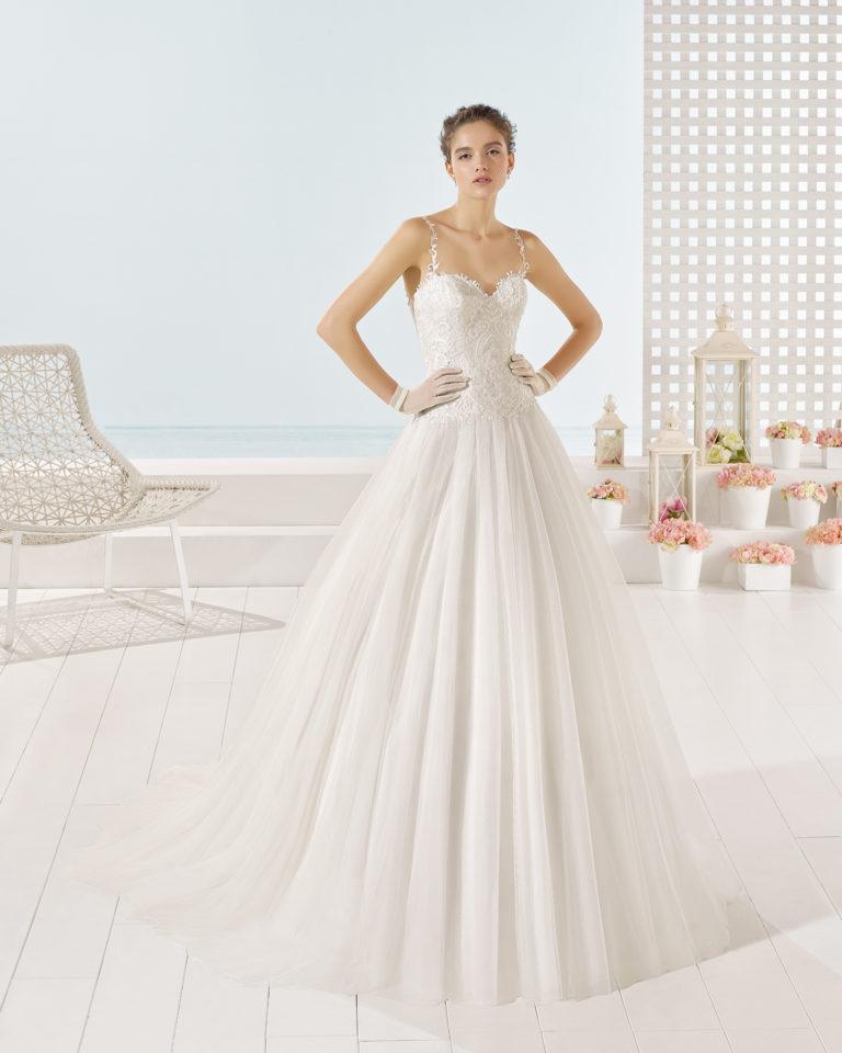 Yesser wedding dress, Luna Novias 2017