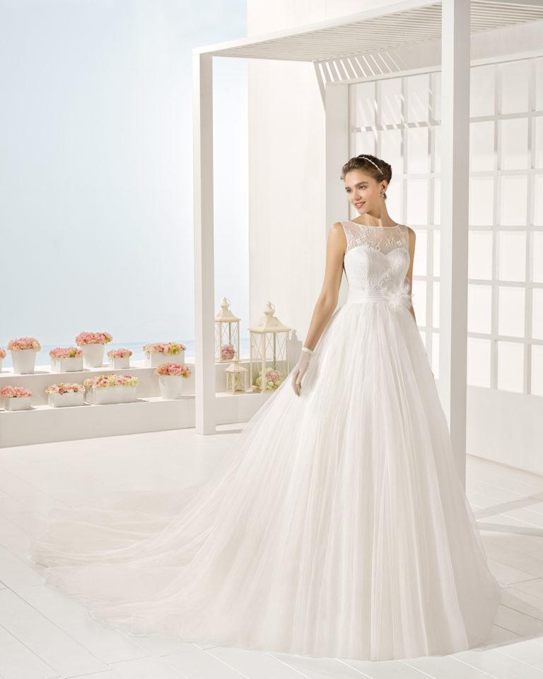 Yodel wedding dress, Luna Novias 2025