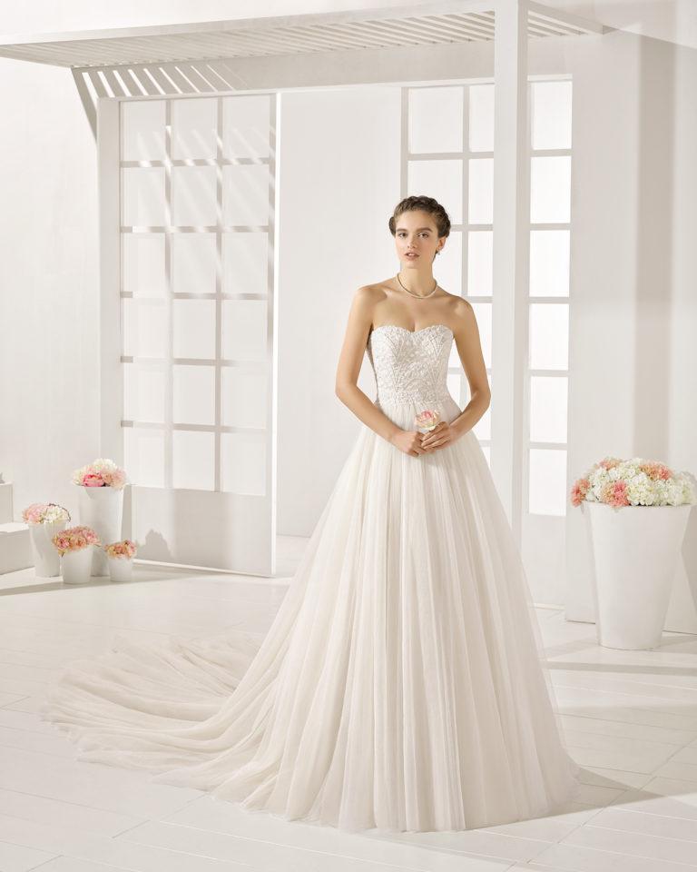 Yolain wedding dress, Luna Novias 2017