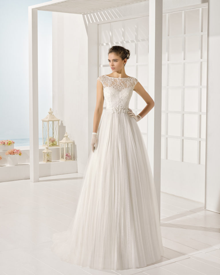 Yole wedding dress, Luna Novias 2017