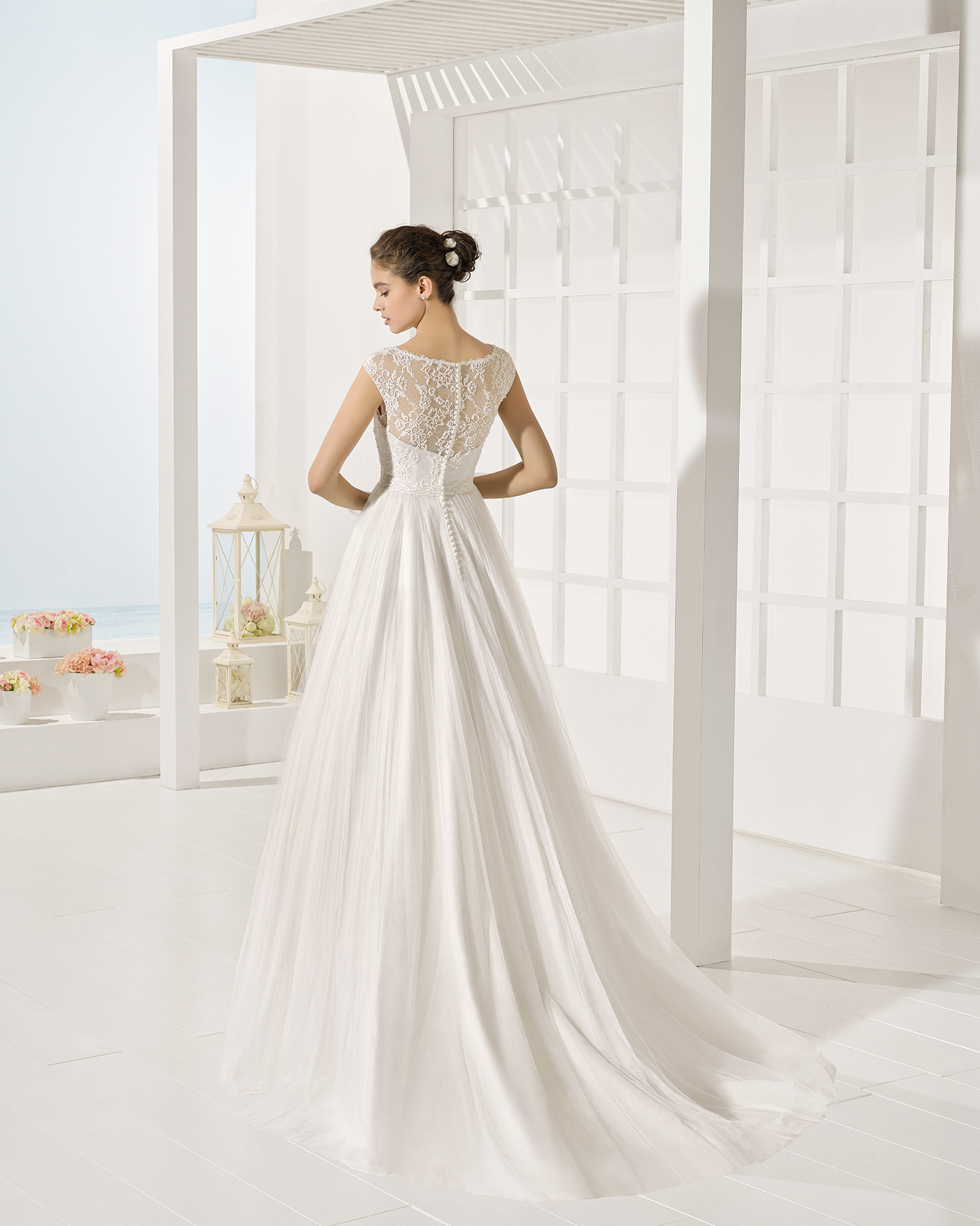 Yole wedding dress, Luna Novias 2017