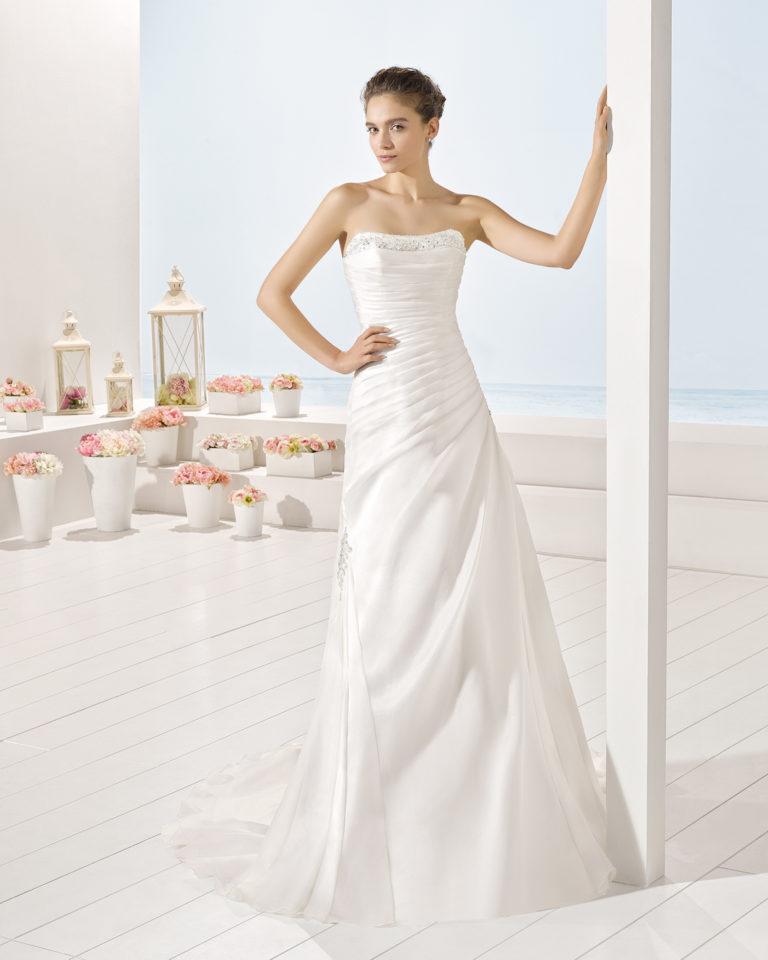 York wedding dress, Luna Novias 2017