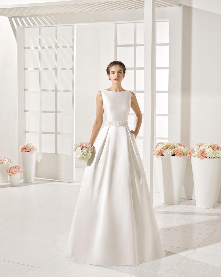 Yurena wedding dress, Luna Novias 2017