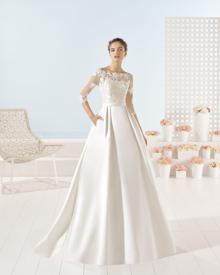 Yuri wedding dress, Luna Novias 2017