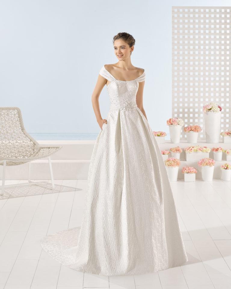 Yute wedding dress, Luna Novias 2017