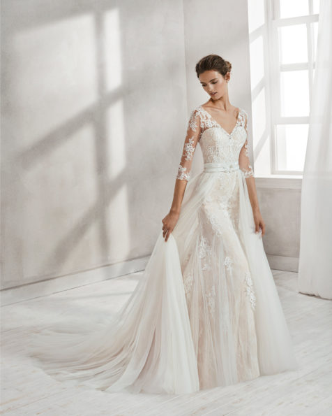 Vestidos de novia estilo francia