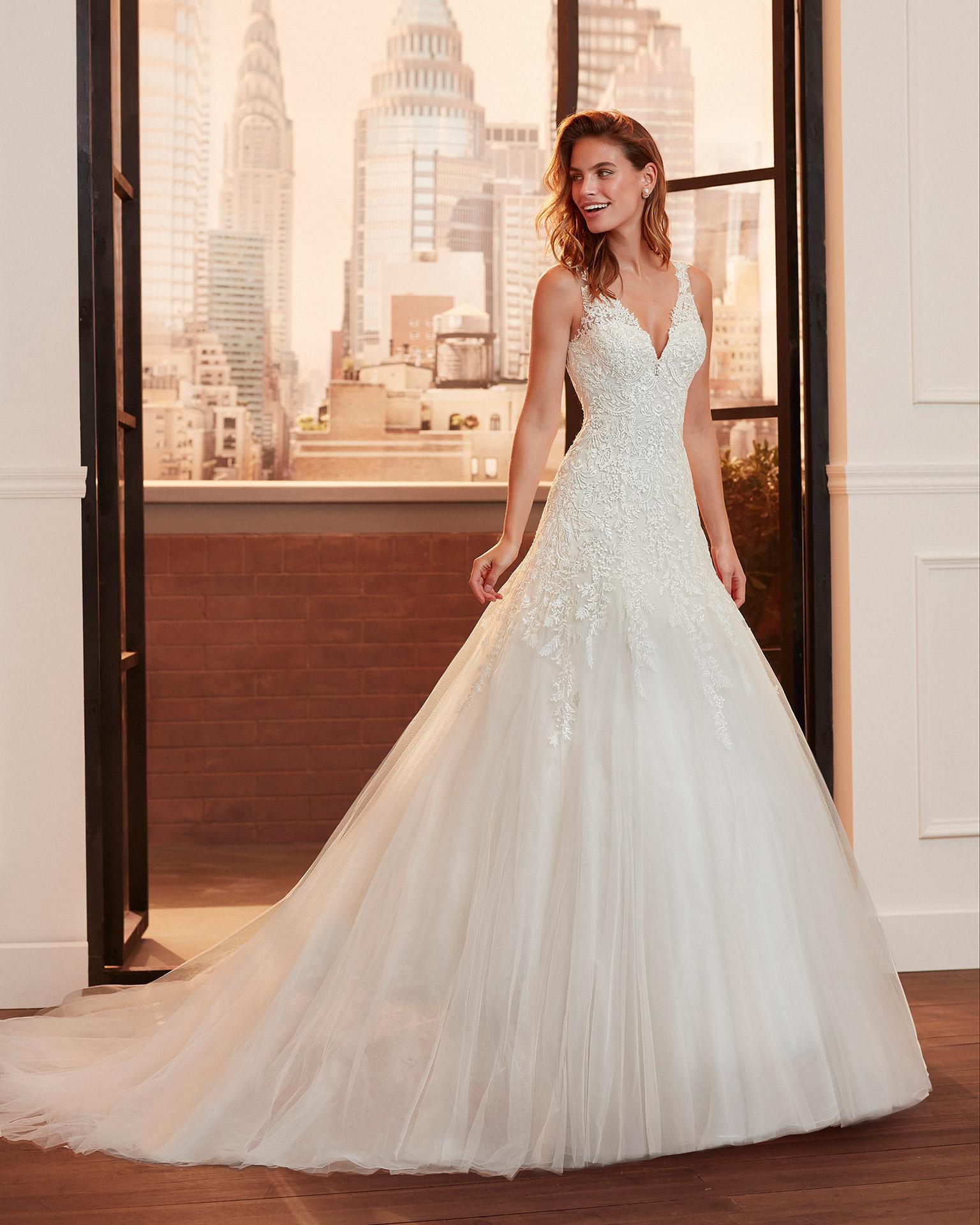 Vestito da Sposa Rosa Clara Levana by Lunanovias